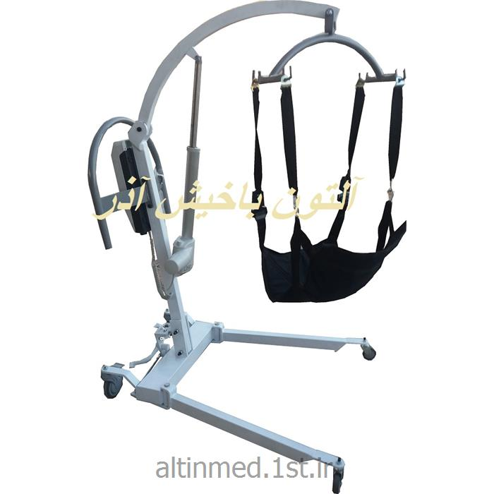 عکس تجهیزات فیزیوتراپی و توان بخشیبالابر (لیفت) حمل بیمار برقی