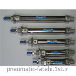 جک قلمی پنوماتیک استیل تیپ MA سایز 80*16 FLUIDAC