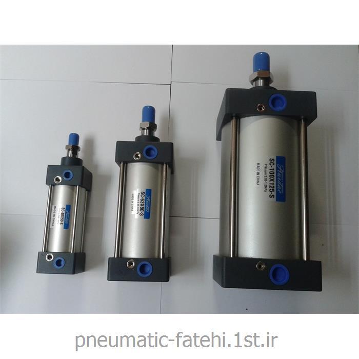 جک چهارمیل پنوماتیک SC سایز 150*32 FLUIDAC