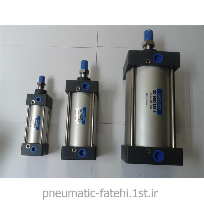 عکس سایر ابزارهاجک چهارمیل پنوماتیک SC سایز 25*100 FLUIDAC