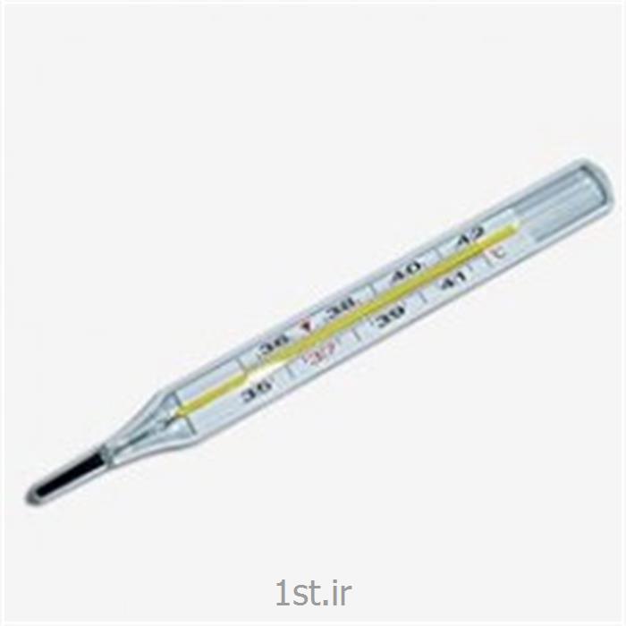 عکس ابزار و تجهیزات دامپزشکیتب سنج دامی جیوه ای