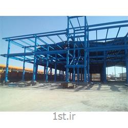ساخت،طراحی و نصب سوله و اسکلت فلزی