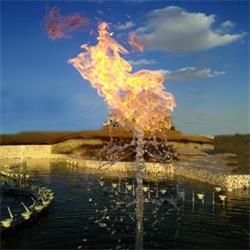 نازل آب و آتش