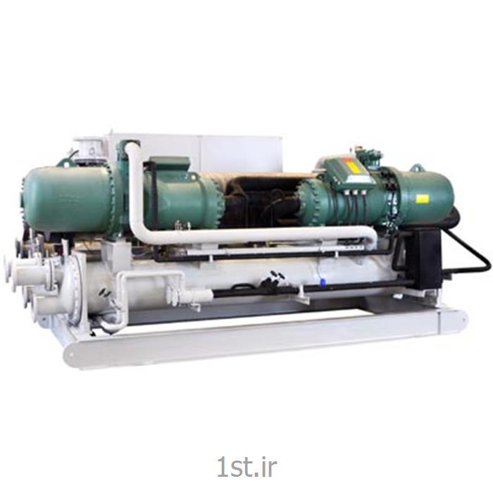 عکس چیلر صنعتیچیلر تراکمی آب خنک تبرید CMT مدل VWSA340