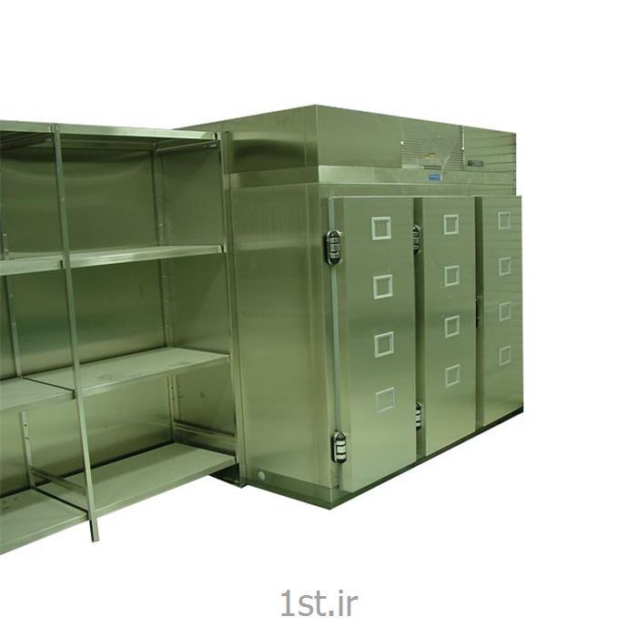 عکس تجهیزات سرمایشی ( سردخانه ) پزشکیسردخانه نگهداری جسد