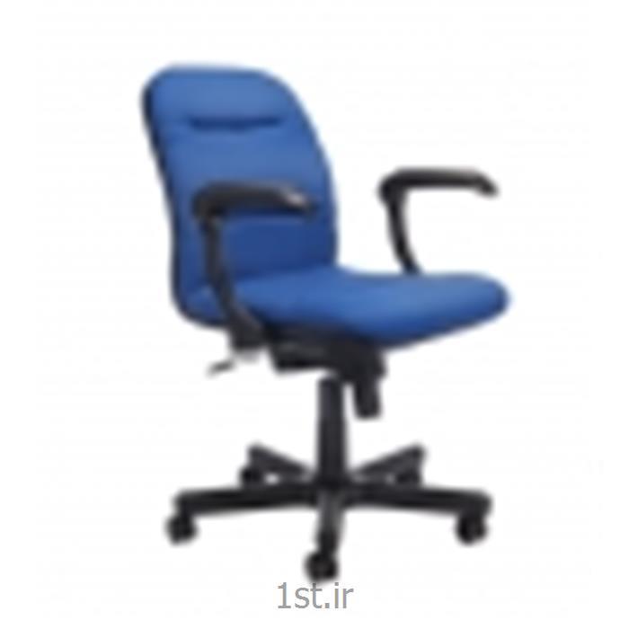 صندلی چرخدار اداری کارمندی نیلپر مدل SK601B