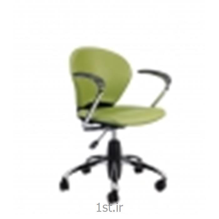صندلی چرخدار اداری کارمندی نیلپر مدل SK515O