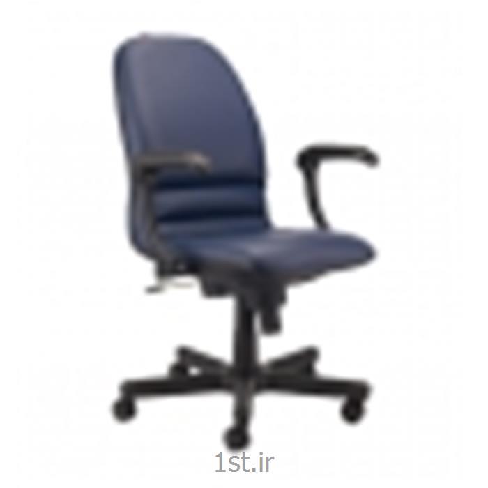 صندلی چرخدار اداری کارمندی نیلپر مدل SK700B