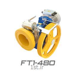 عکس تجهیزات آسانسورموتور گیربکس ایتال مدل FT1-480