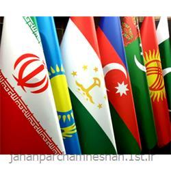 عکس پرچم، بنر و لوازم جانبیپرچم تشریفات لمینت ایران مدل : Flt-i401