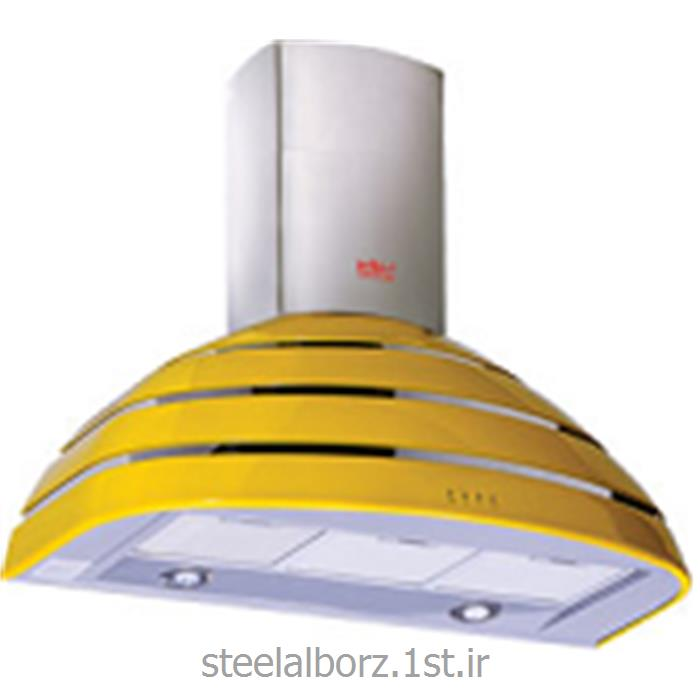 عکس هود اجاق گازهود شومینه ای رنگی مدل SA-301Y