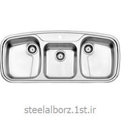 عکس سینک آشپزخانهسینک فانتزی توکار مدل 624
