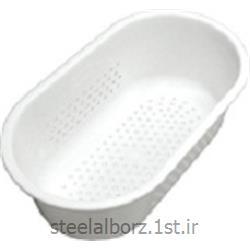 عکس سبد وسایلسبد سفید پلاستیکی آشپزخانه