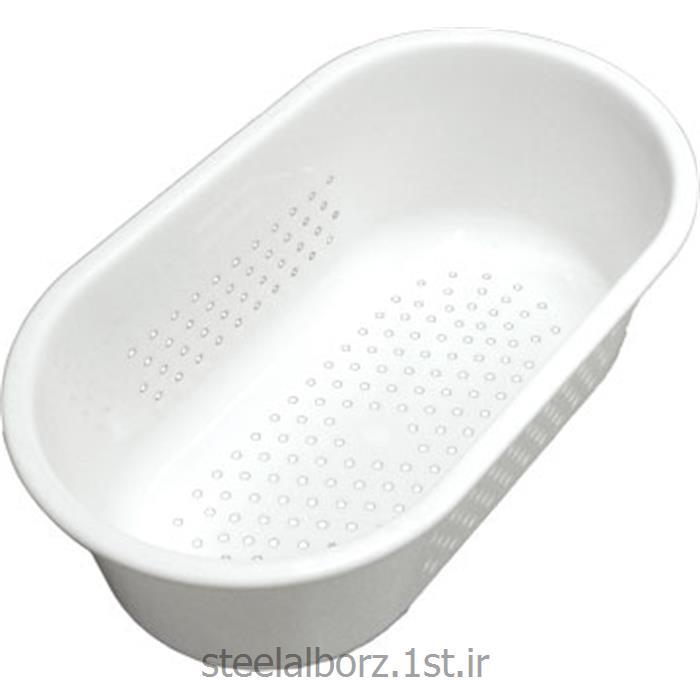 سبد سفید پلاستیکی آشپزخانه