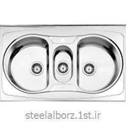 عکس سینک آشپزخانهسینک فانتزی روکار مدل 720/60