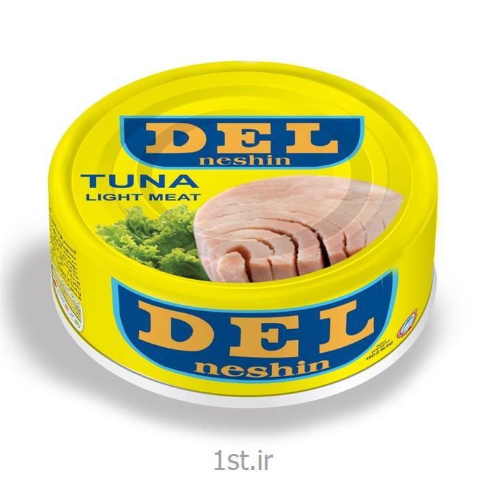 کنسرو ماهی تن در روغن آفتابگردان دل نشین ۱۵۰ گرمی