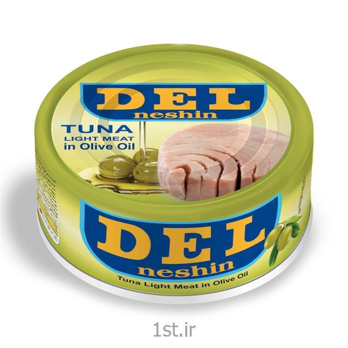 کنسرو ماهی تن در روغن زیتون دل نشین ۱۸۰ گرمی