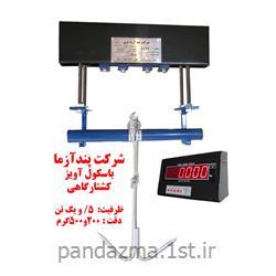 عکس ترازوی وزن کشیباسکول آویز کشتارگاهی پندآزما مدل 8400