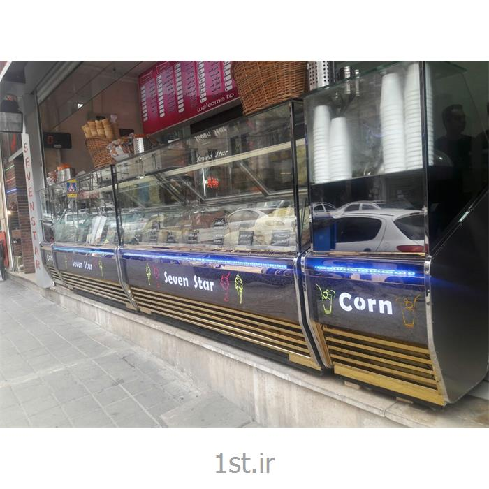 عکس فریزر صنعتیفریزرصنعتی تاپینگ بستنی استوایی اسکوپی