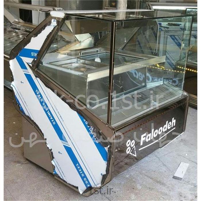 عکس فریزر صنعتیفریزر صنعتی فالوده بستنی  طرح تاپینگ