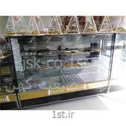 یخچال صنعتی قنادی شیرینی فروشی مکعبی اکواریومی