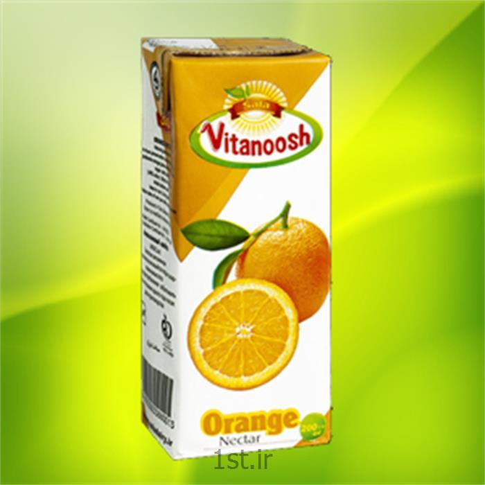 عکس آب میوه و آب سبزیجاتآب پرتقال 200 سی سی ویتانوش صلا