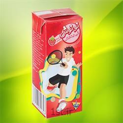 شیر توت فرنگی چهارگوش نونوش