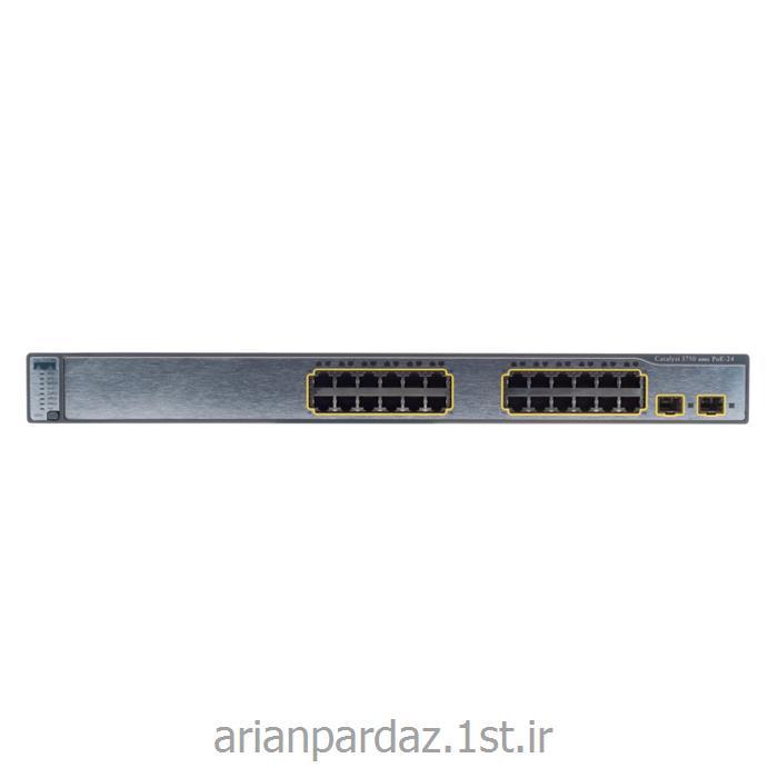 سوئیچ شبکه 48 پورت سیسکو cisco 3750 PSS