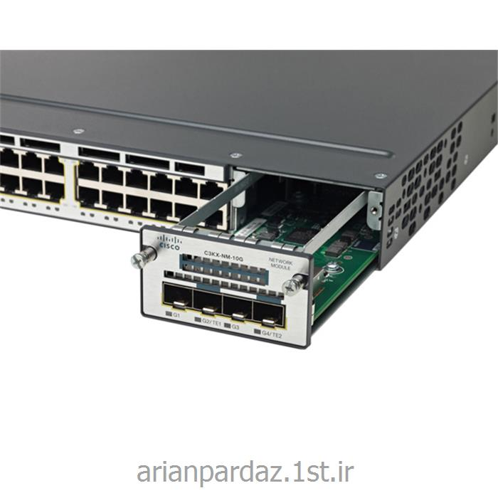 سوییچ شبکه سیسکو 24 پورت WS-C 3750X- 24S-E