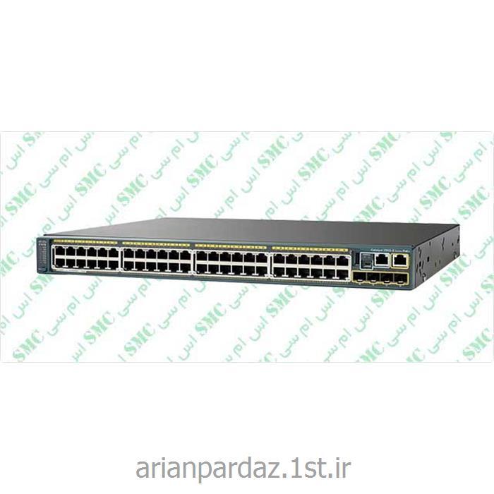 عکس سوئیچ شبکهسوییچ شبکه 48 پورت سیسکو  Cisco 2960s-48LPS-L