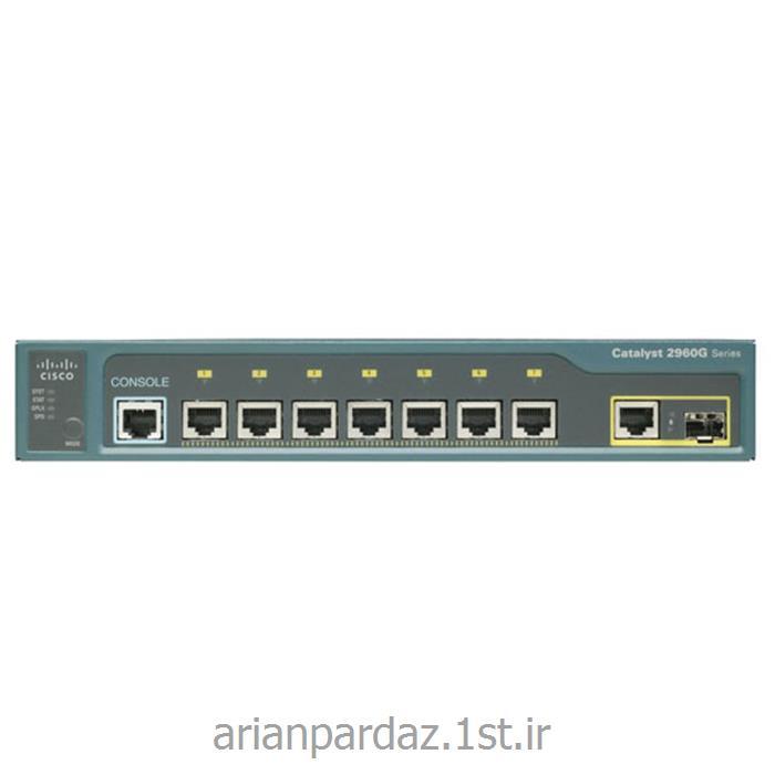 سوئیچ شبکه 8 پورت سیسکو cisco 2960PD-8TT-L