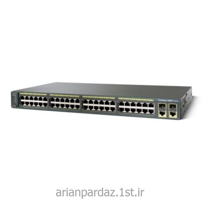 سوئیچ شبکه 48 پورت سیسکو  cisco 2960 TCL