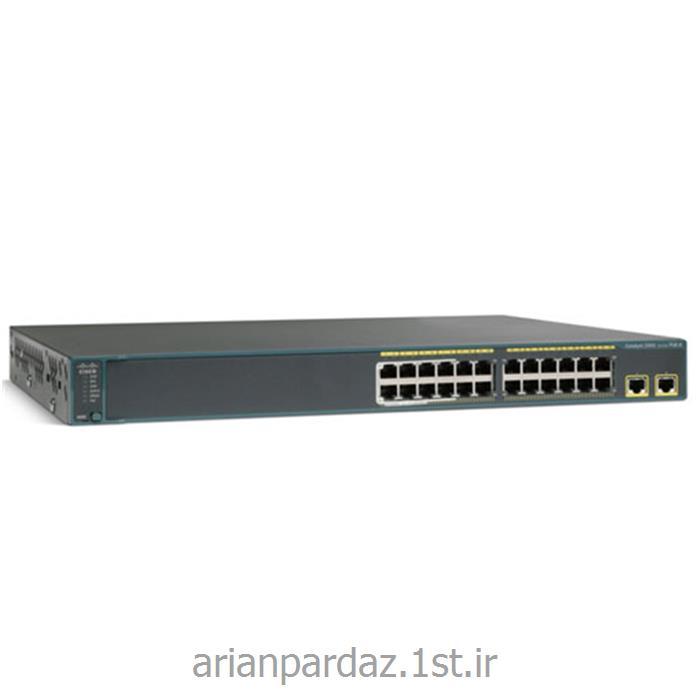 عکس سوئیچ شبکهسوییچ شبکه 24 پورت سیسکو  Cisco 2960s-24TD-L