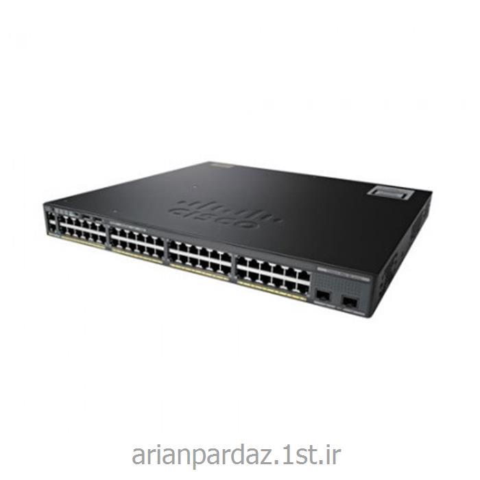عکس سوئیچ شبکهسوییچ شبکه سیسکو 48 پورت Cisco 2960X-48TD-L