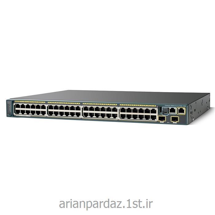 عکس سوئیچ شبکهسوییچ شبکه 24 پورت سیسکو  Cisco 2960s-48LPD-L