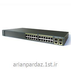 سوییچ شبکه سیسکو 24 پورت Cisco Catalyst 2960-24TC-L