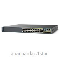 سوییچ شبکه 24 پورت سیسکو  Cisco  2960S-24PS-L