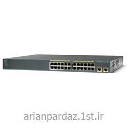 سوییچ شبکه سیسکو 24 پورت Cisco  2960-24LT-L