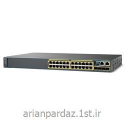 سوییچ شبکه 24 پورت سیسکو  Cisco 2960S-24TS-L