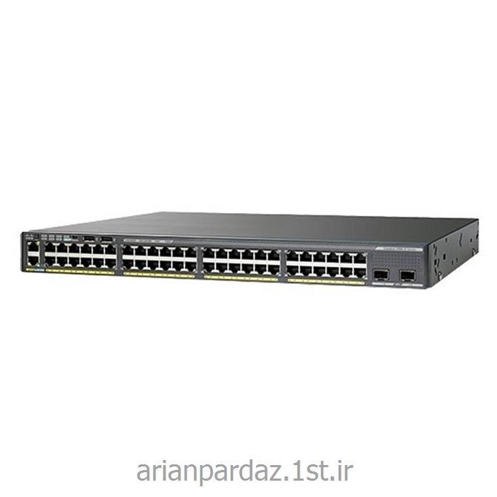 سوئیچ شبکه سیسکو 48 پورت Cisco 2960XR-48LPD-I