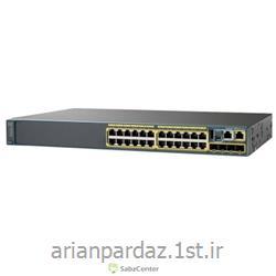 عکس سوئیچ شبکهسوییچ شبکه سیسکو 24 پورت Cisco 2960X-24TS-L