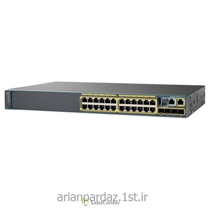 سوییچ شبکه سیسکو 24 پورت Cisco 2960X-24TS-L