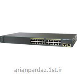 سوییچ شبکه سیسکو 24 پورت Cisco 2960-24TT-L