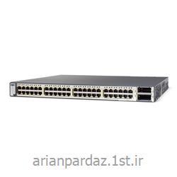 سوئیچ شبکه 48 پورت سیسکو cisco PDS - 3750E
