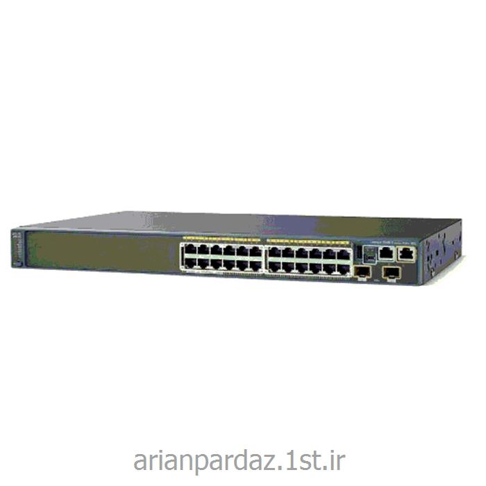 عکس سوئیچ شبکهسوییچ شبکه سیسکو 24 پورت Cisco 2960X-24TD-L