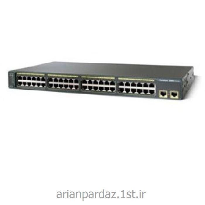 سوئیچ شبکه 48 پورت سیسکو  cisco 2960G-48TC-L