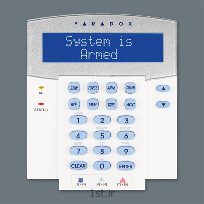 کیپد دزدگیر پارادوکس با صفحه نمایش LCD  دارای کارت خوان مدل K641R