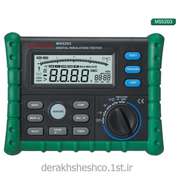 عکس سایر تجهیزات اندازه گیری الکتریکیمیگر دیجیتال MS5203 مستک