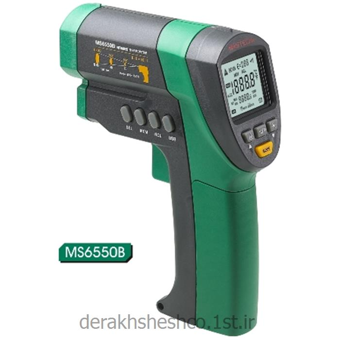 عکس ابزار اندازه گیری دما و حرارتترمو متر لیزری ms6550B مستک