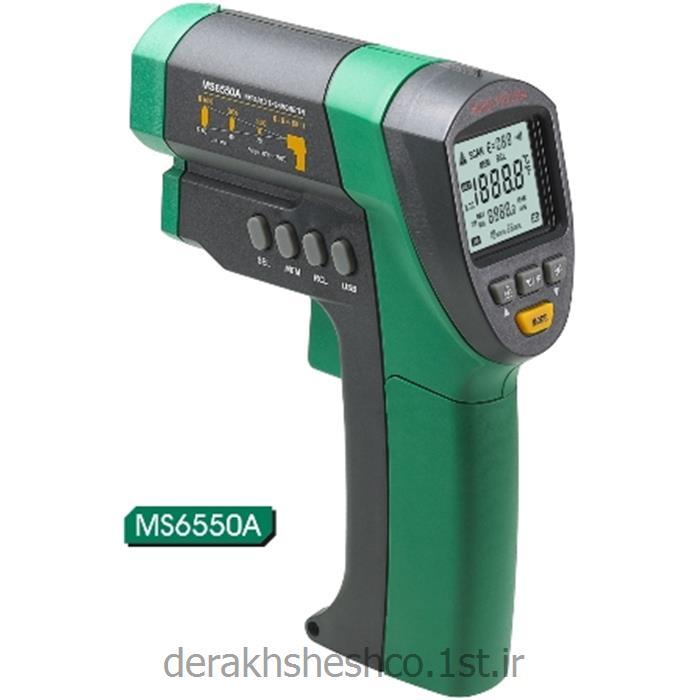 عکس ابزار اندازه گیری دما و حرارتترمو متر لیزری MS6540B مستک